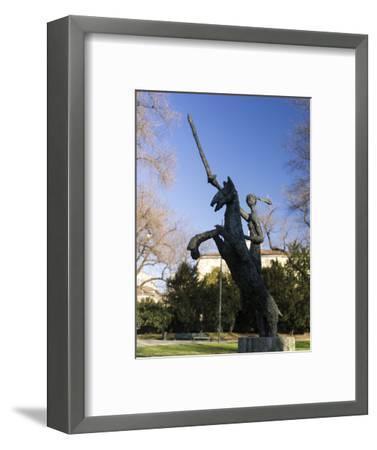 Giardini Pubblici Indro Montanelli in Milan-enricocacciafotografie-Framed Photographic Print