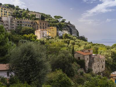 Sorrento in the Bay of Naples-enricocacciafotografie-Framed Photographic Print