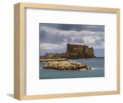 Castel dell'Ovo in Naples-enricocacciafotografie-Framed Photographic Print