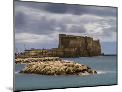 Castel dell'Ovo in Naples-enricocacciafotografie-Mounted Photographic Print
