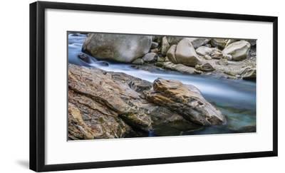 Rocky dragonhead in the Verzasca-enricocacciafotografie-Framed Photographic Print