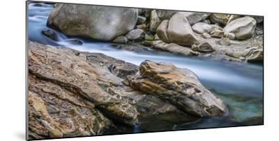 Rocky dragonhead in the Verzasca-enricocacciafotografie-Mounted Photographic Print