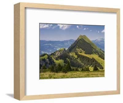 Summery mountain landscape in the Bernese Oberland-enricocacciafotografie-Framed Photographic Print