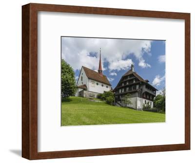 Pilgrimage chapel Maria Mitleiden in Gormund-enricocacciafotografie-Framed Photographic Print
