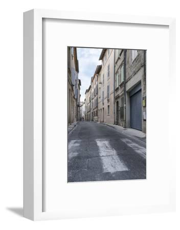 Street in the Old Town of Avignon, Vaucluse, Provence, France,-Bernd Wittelsbach-Framed Photographic Print