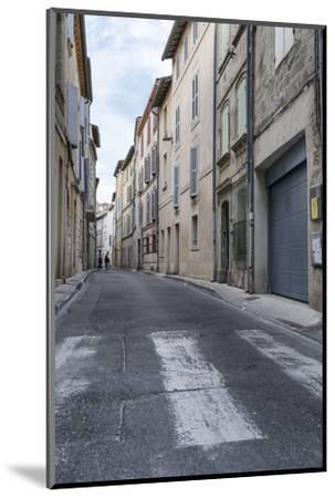 Street in the Old Town of Avignon, Vaucluse, Provence, France,-Bernd Wittelsbach-Mounted Photographic Print