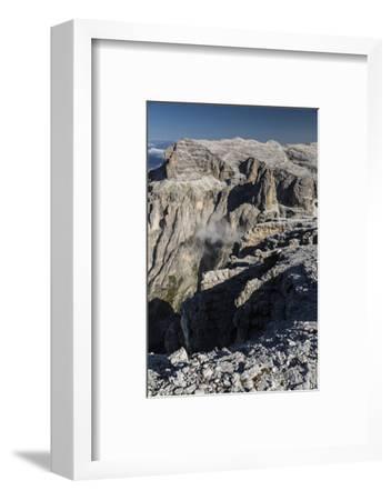 Europe, Italy, Alps, Dolomites, Mountains, Trentino-Alto Adige/Südtirol, View from Sass Pordoi-Mikolaj Gospodarek-Framed Photographic Print
