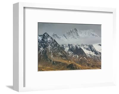 Europe, Austria/Italy, Alps, Mountains, View from Passo Rombo - Timmelsjoch-Mikolaj Gospodarek-Framed Photographic Print