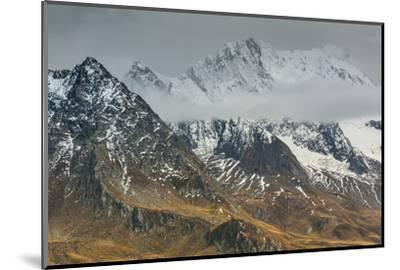 Europe, Austria/Italy, Alps, Mountains, View from Passo Rombo - Timmelsjoch-Mikolaj Gospodarek-Mounted Photographic Print