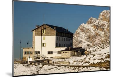 Europe, Italy, Alps, Dolomites, Mountains, Belluno, Sexten Dolomites, Rifugio Auronzo, Tre Cime-Mikolaj Gospodarek-Mounted Photographic Print