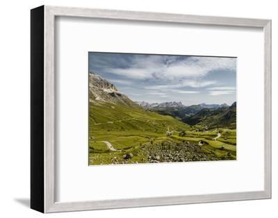 Europe, Italy, Alps, Dolomites, Mountains, Pordoi Pass-Mikolaj Gospodarek-Framed Photographic Print