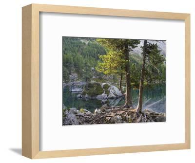 Lago di Saoseo, Grisons, Switzerland-Michael Jaeschke-Framed Photographic Print