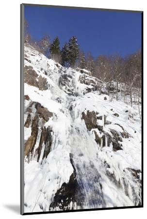 Hangloch Wasserfall close Todtnau, Black Forest, Baden-Wurttemberg, Germany-Markus Lange-Mounted Photographic Print