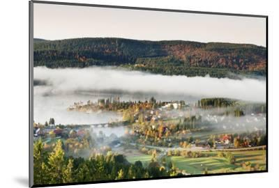 Schluchsee, Black Forest, Baden-Wurttemberg, Germany-Markus Lange-Mounted Photographic Print
