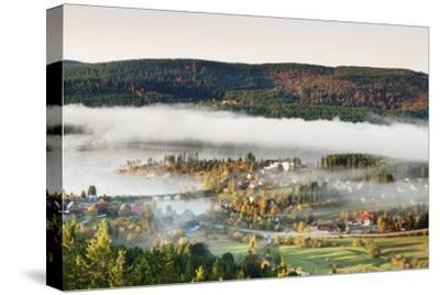 Schluchsee, Black Forest, Baden-Wurttemberg, Germany-Markus Lange-Stretched Canvas Print