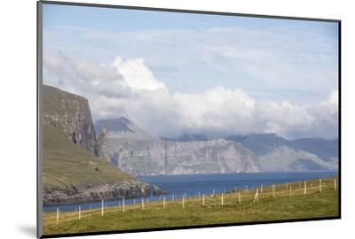 Faroes, Vagar, scenery-olbor-Mounted Photographic Print