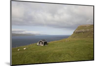 Faroes, Sandoy, house-olbor-Mounted Photographic Print