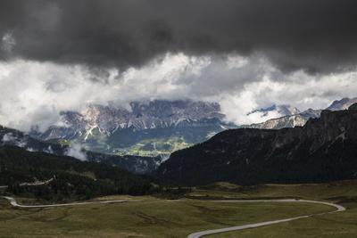 Europe, Italy, Alps, Dolomites, Mountains, Veneto, Belluno, Giau Pass-Mikolaj Gospodarek-Framed Photographic Print