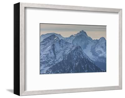 Europe, Germany, Bavaria, Alps, Mountains, Mittenwald, View from Karwendel-Mikolaj Gospodarek-Framed Photographic Print