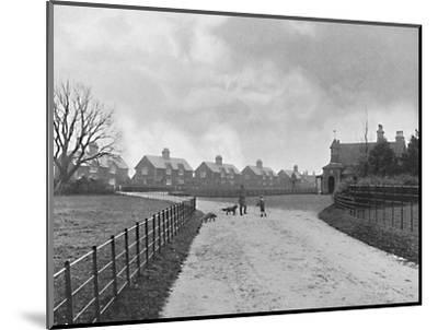 'The Prince of Wales's Model Village at Sandringham', c1896-Unknown-Mounted Photographic Print