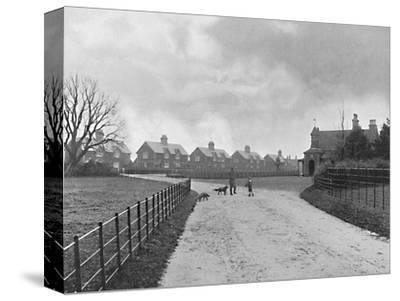 'The Prince of Wales's Model Village at Sandringham', c1896-Unknown-Stretched Canvas Print