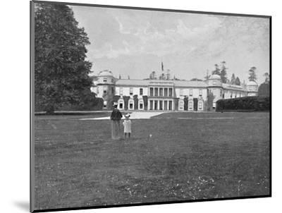 'Goodwood House, Sussex', c1896-Unknown-Mounted Photographic Print