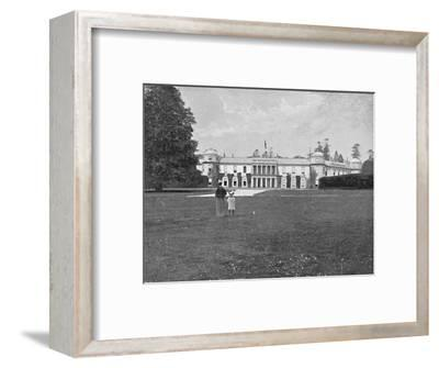 'Goodwood House, Sussex', c1896-Unknown-Framed Photographic Print