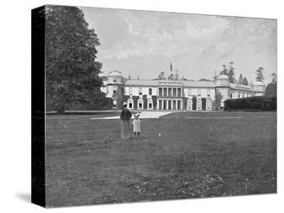 'Goodwood House, Sussex', c1896-Unknown-Stretched Canvas Print