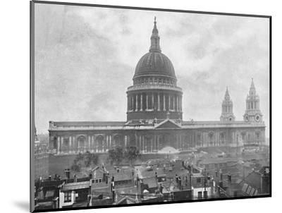 'St. Paul's Cathedral', c1896-Unknown-Mounted Photographic Print