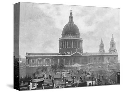 'St. Paul's Cathedral', c1896-Unknown-Stretched Canvas Print