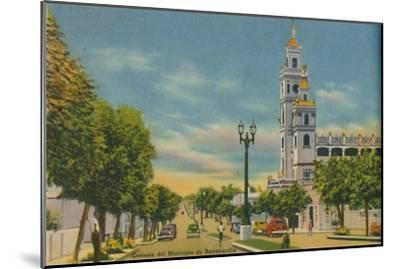 'Olaya Herrera Avenue, Barranquilla', c1940s-Unknown-Mounted Giclee Print