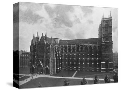 'Westminster Abbey', c1896-Unknown-Stretched Canvas Print