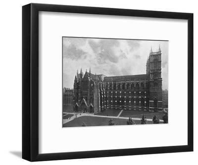 'Westminster Abbey', c1896-Unknown-Framed Photographic Print