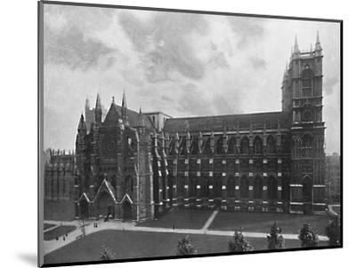 'Westminster Abbey', c1896-Unknown-Mounted Photographic Print