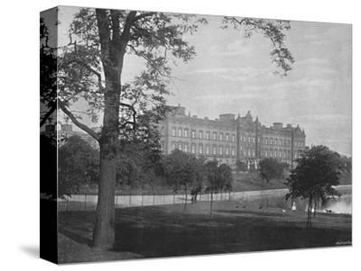 'Buckingham Palace', c1896-Unknown-Stretched Canvas Print