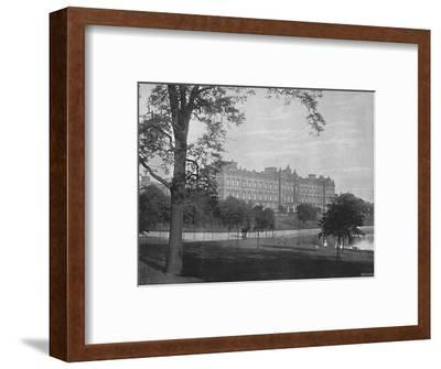 'Buckingham Palace', c1896-Unknown-Framed Photographic Print