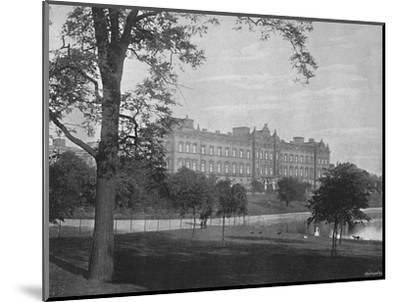 'Buckingham Palace', c1896-Unknown-Mounted Photographic Print