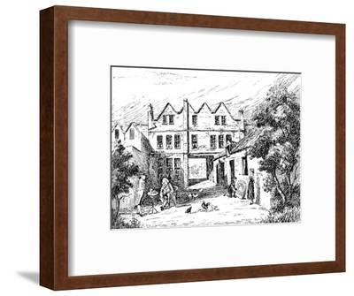 'The Pelican Inn', 1907-Unknown-Framed Giclee Print