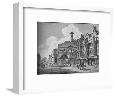 'Fleet Street in the Eighteenth Century', 1907-Unknown-Framed Giclee Print