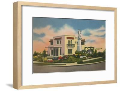 'Residence in Altos del Prado, Barranquilla', c1940s-Unknown-Framed Giclee Print