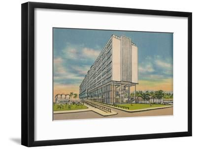 'Federal Building in the Civic Center, Barranquilla', c1940s-Unknown-Framed Giclee Print