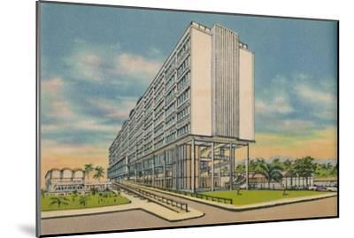 'Federal Building in the Civic Center, Barranquilla', c1940s-Unknown-Mounted Giclee Print