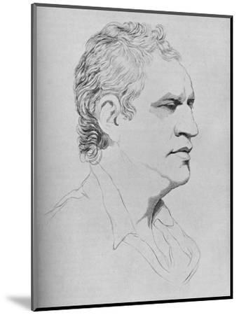 'Samuel Johnson, 1773', 1907-Unknown-Mounted Giclee Print