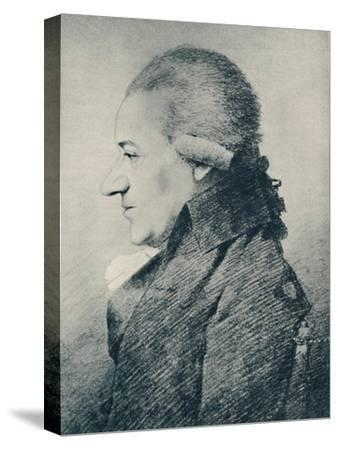 'Dr. Charles Burney (b. 1726, d. 1814), 1907-Unknown-Stretched Canvas Print