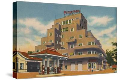 'A modern building, Baranquilla', c1940s-Unknown-Stretched Canvas Print