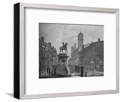 'Charing Cross and Northumberland House', 1907-Unknown-Framed Giclee Print