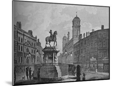 'Charing Cross and Northumberland House', 1907-Unknown-Mounted Giclee Print
