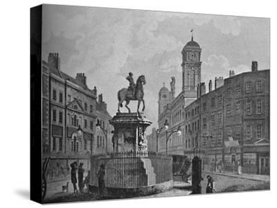 'Charing Cross and Northumberland House', 1907-Unknown-Stretched Canvas Print