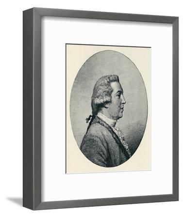 'Thomas Tyers (b. 1726, d. 1787)', 1907-Unknown-Framed Giclee Print