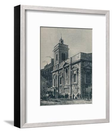'St. Mildred's Church, and the Poultry', 1907-Unknown-Framed Giclee Print